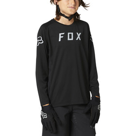 Fox Defend LS Jersey Youth, zwart